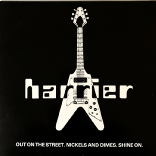 "Harrier ‎- Out On The Street (12"") (Signed) (EX-/VG)"